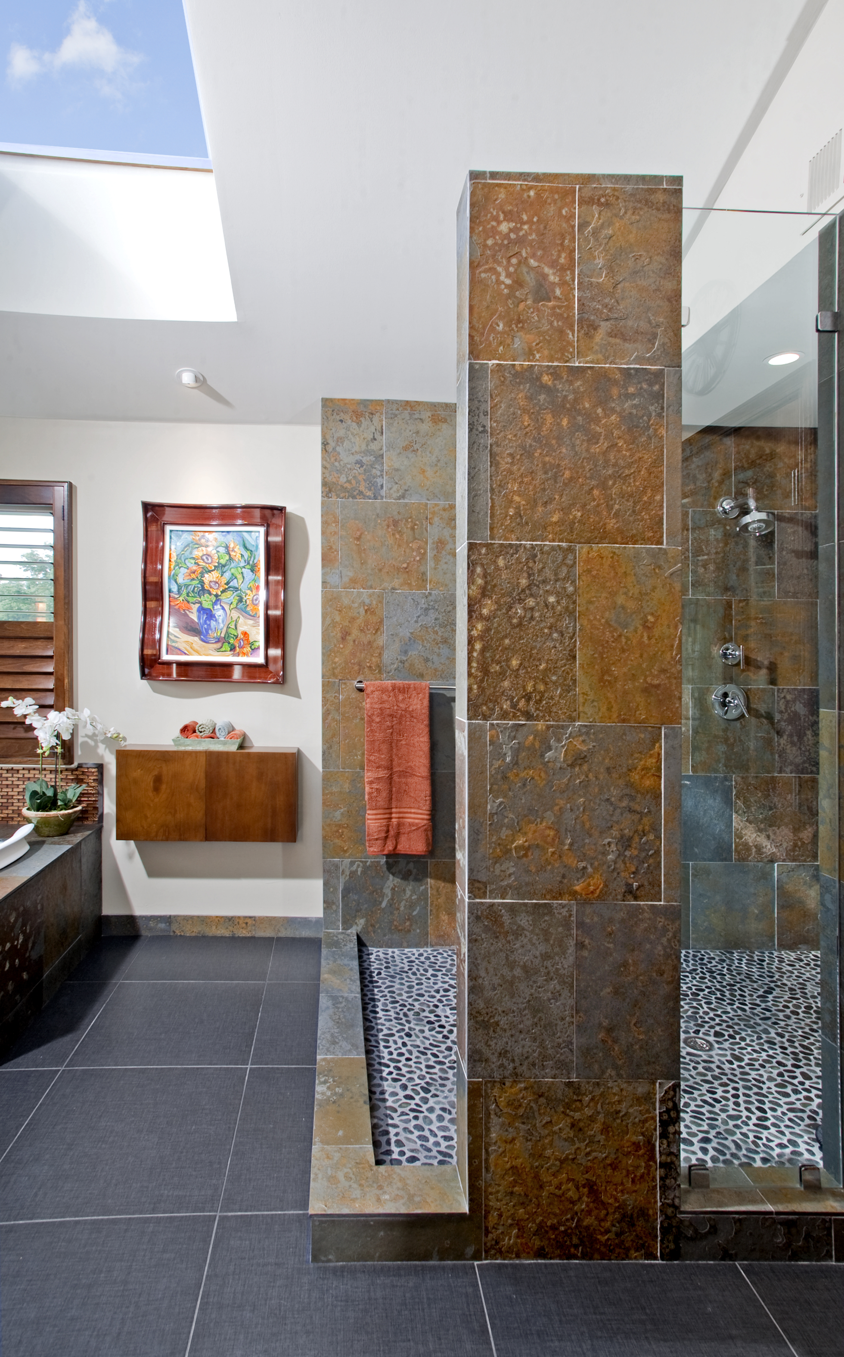 Modern Master Bathroom- Media, PA