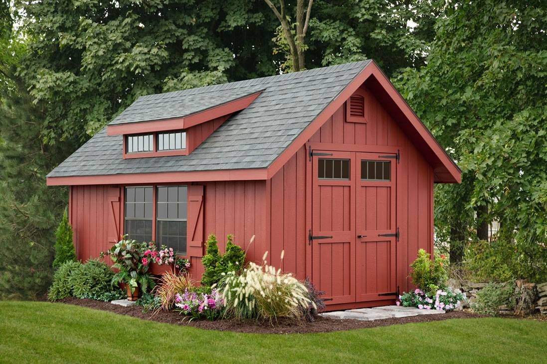 10x14 Victorian A-frame Shed