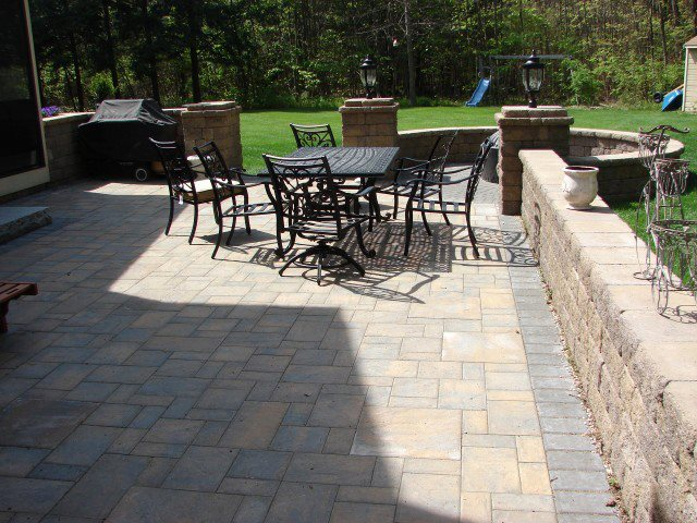 Paver Patio plus Circular Patio