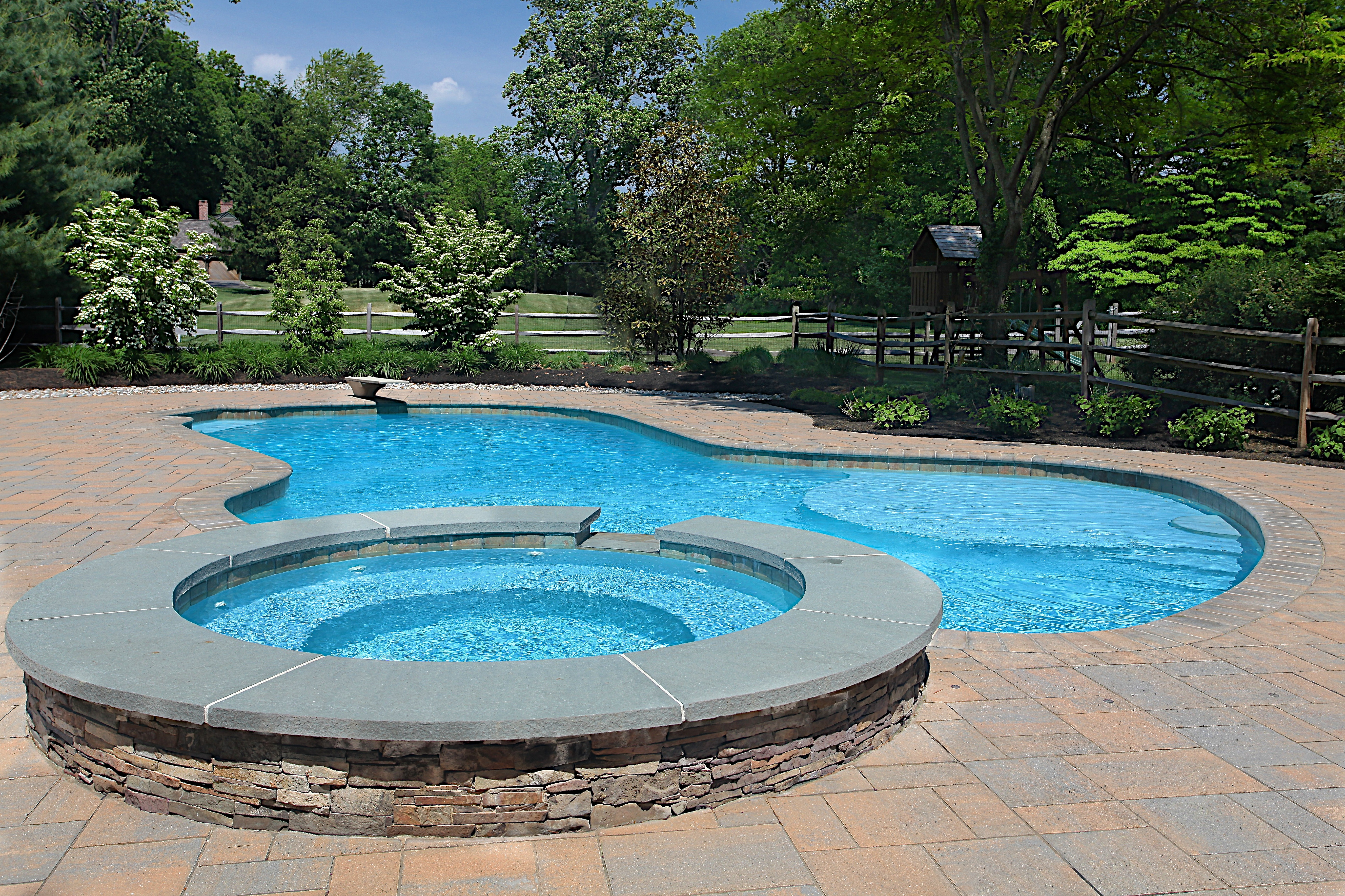 Salt Water Pool Designs small pool or plunge pool in an urban backyard in dallas texas designed by bonick Salt Water Pools Greenview Designs Llc House Home Magazine