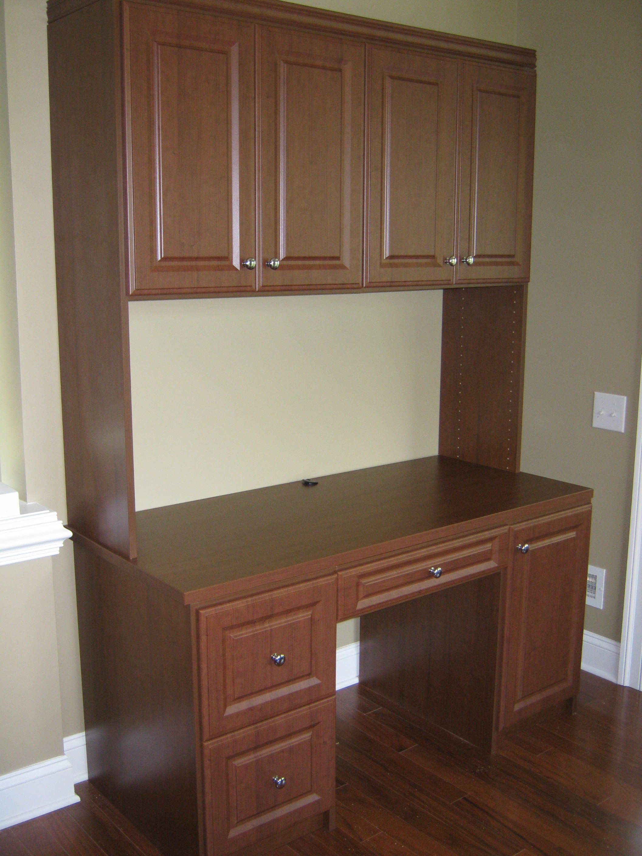 Desk Unit - Closets For Less of Bucks County - House & Home Magazine