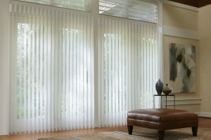 Sheer and Shadings window treatments