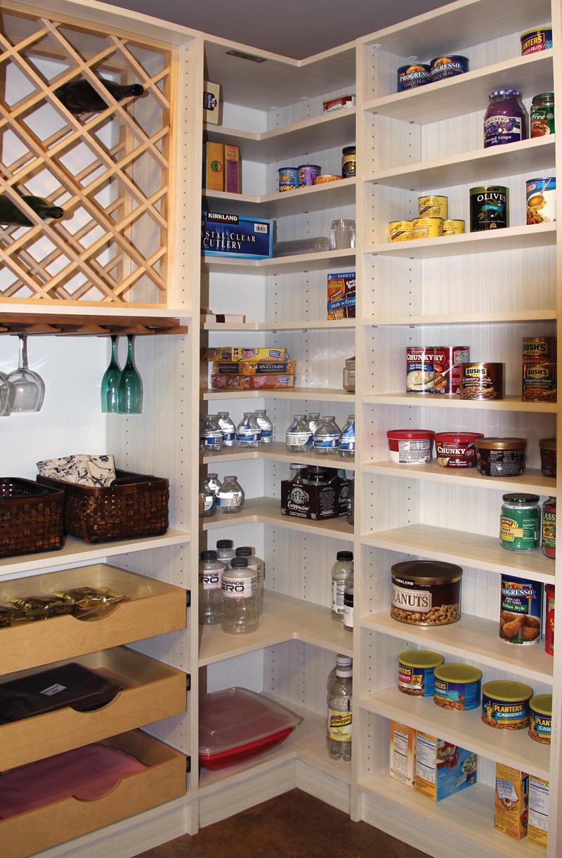 Corner Pantry   Closets U0026 Cabinetry By Closet City   House U0026 Home Magazine
