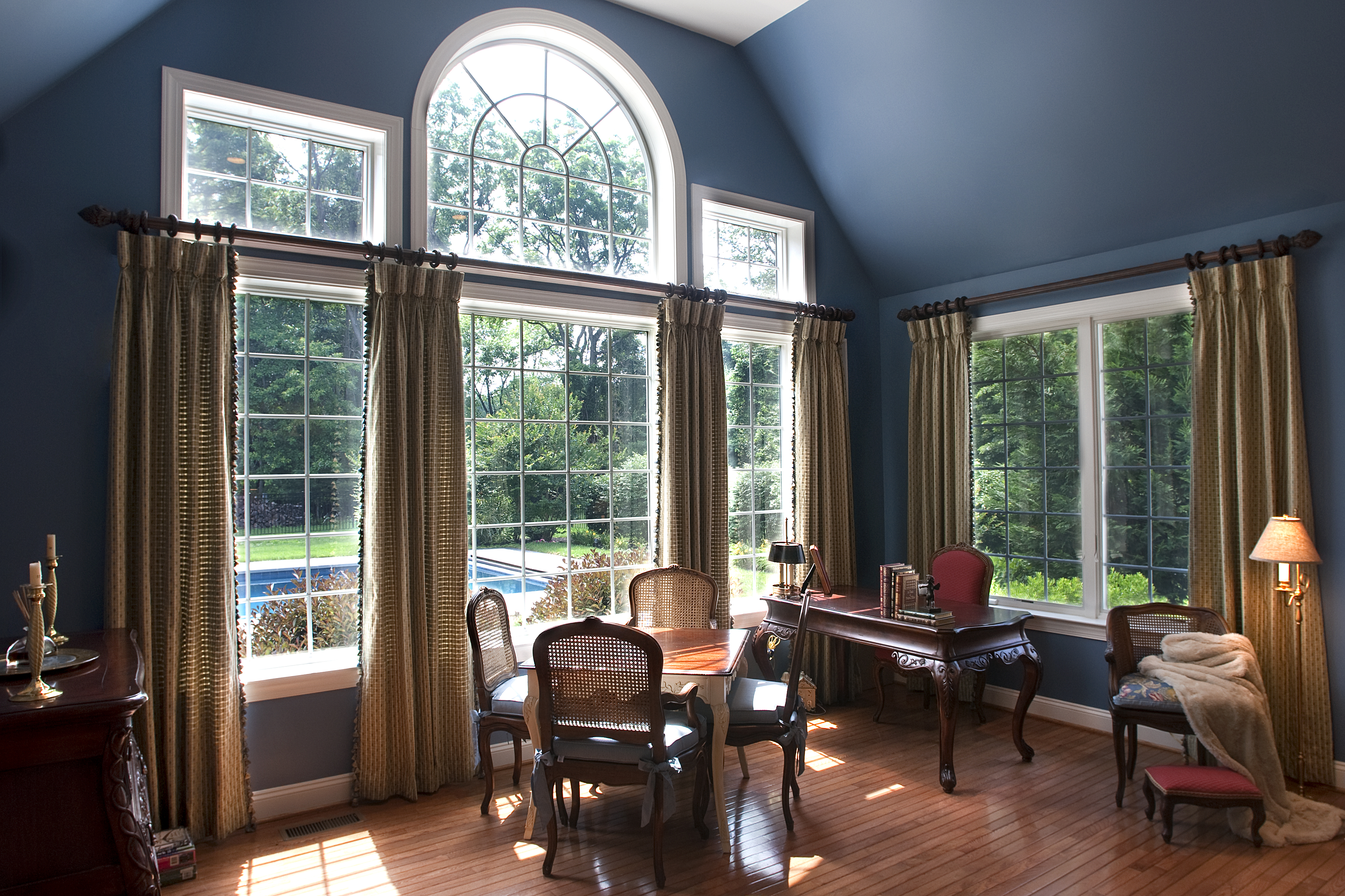 Drapes And Curtains Allure Window Treatments House Home Magazine