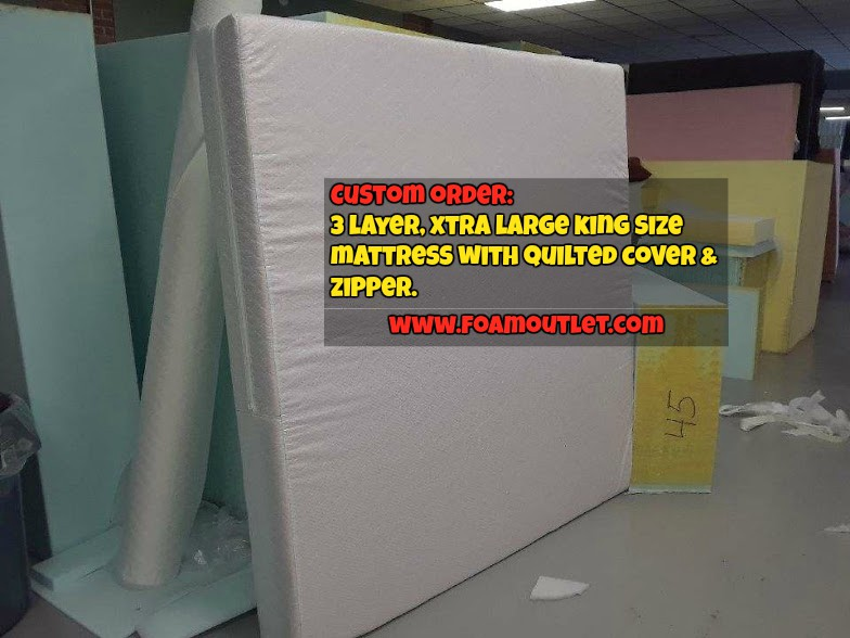 King Size Custom Made Mattress