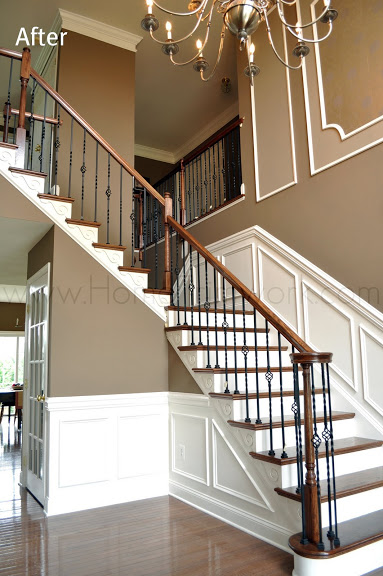 Beautiful Foyer Stairwork