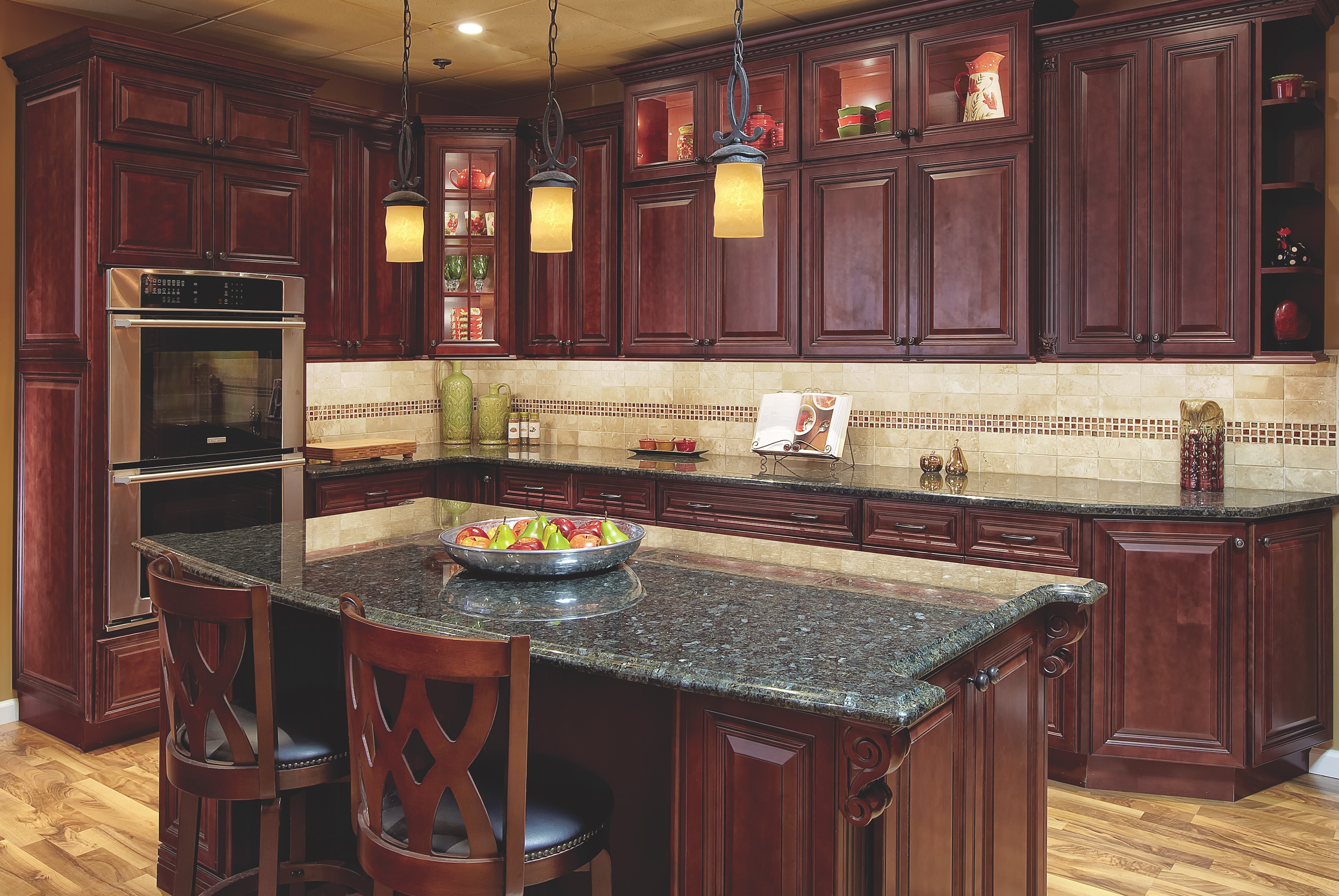 Cherry Hill Raised The Solid Wood Cabinet Company House Home Magazine