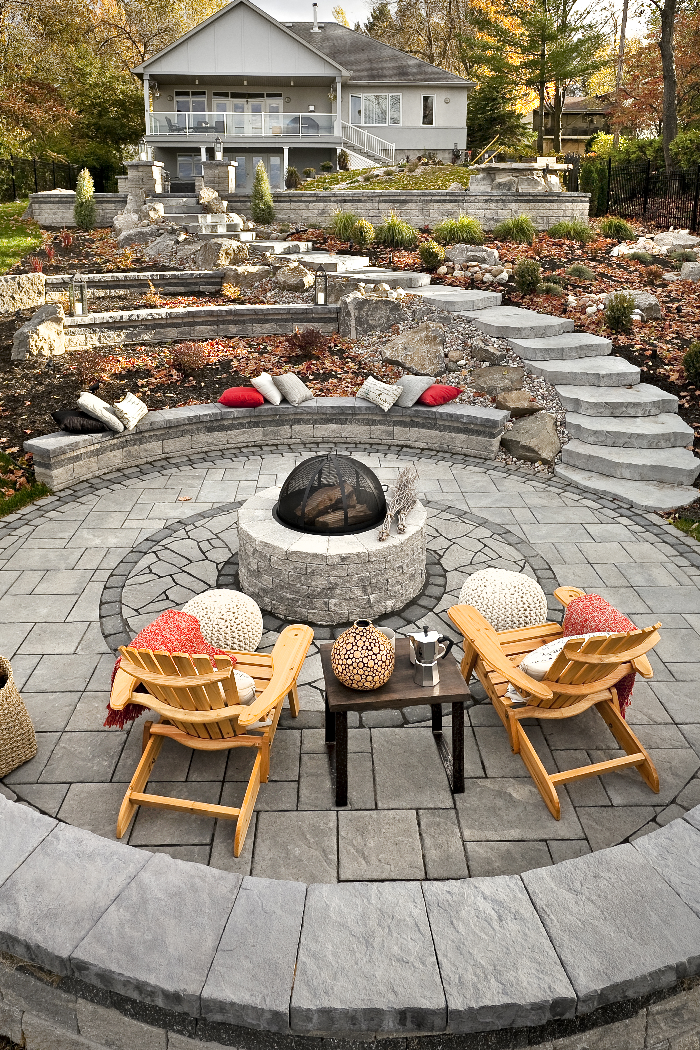 Country Rustic Style Patio