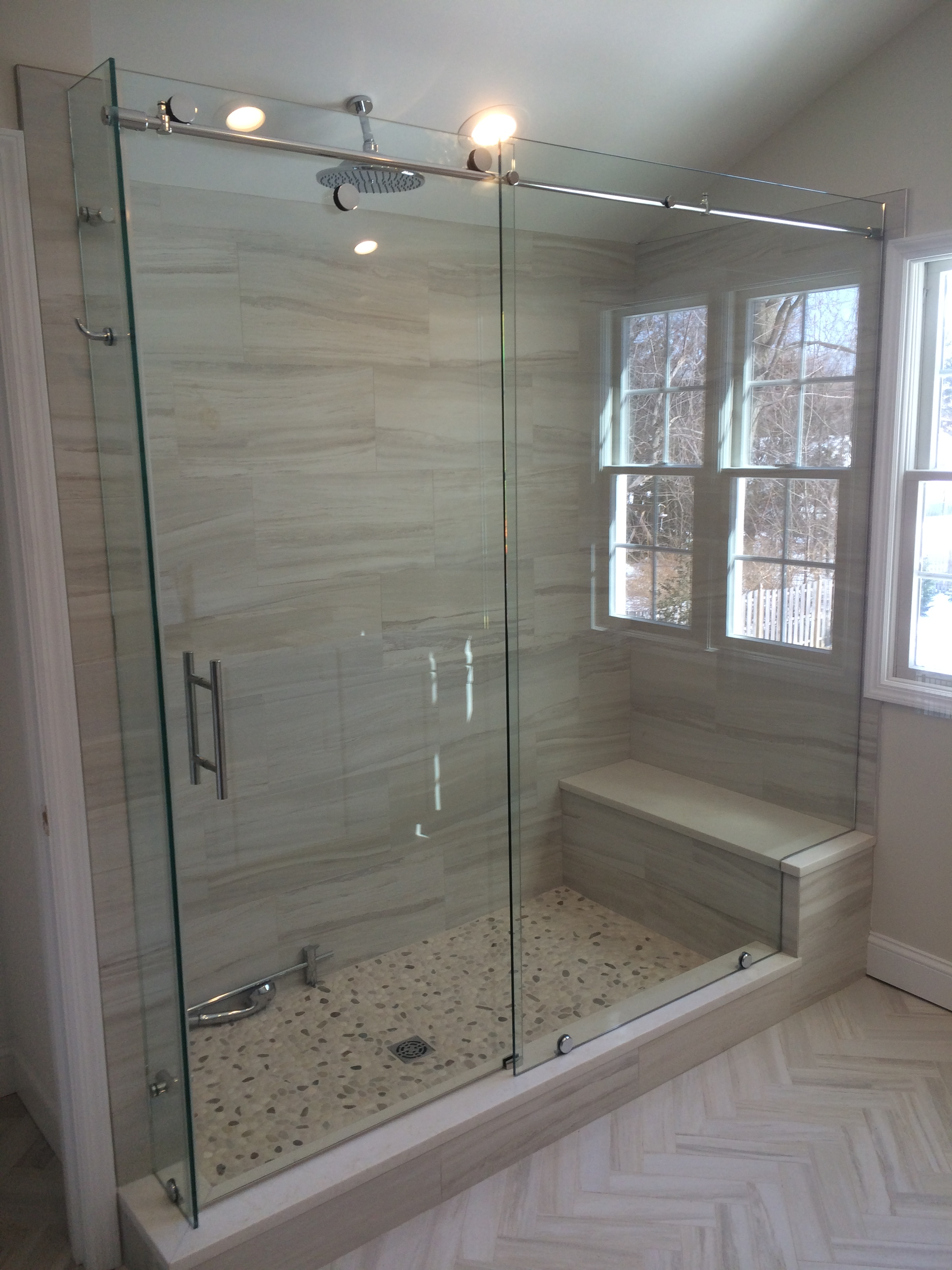 Glass Castle Skyline Shower Door